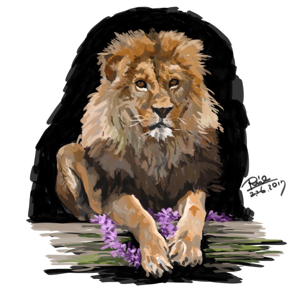 【花冠シリーズ】ライオンさん