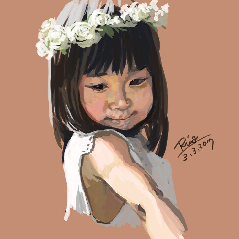 【花冠シリーズ】日本人の女の子